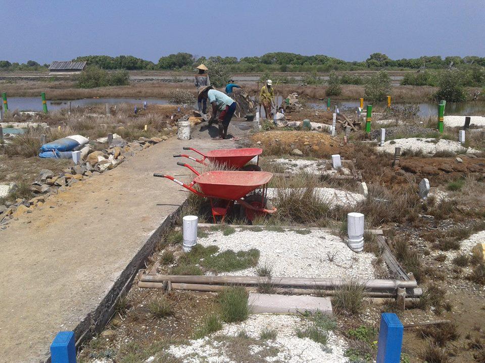 Pemakaman  Umum Desa Kedungmutih dapat  Dana Aspirasi , Untuk Urug dan Talud
