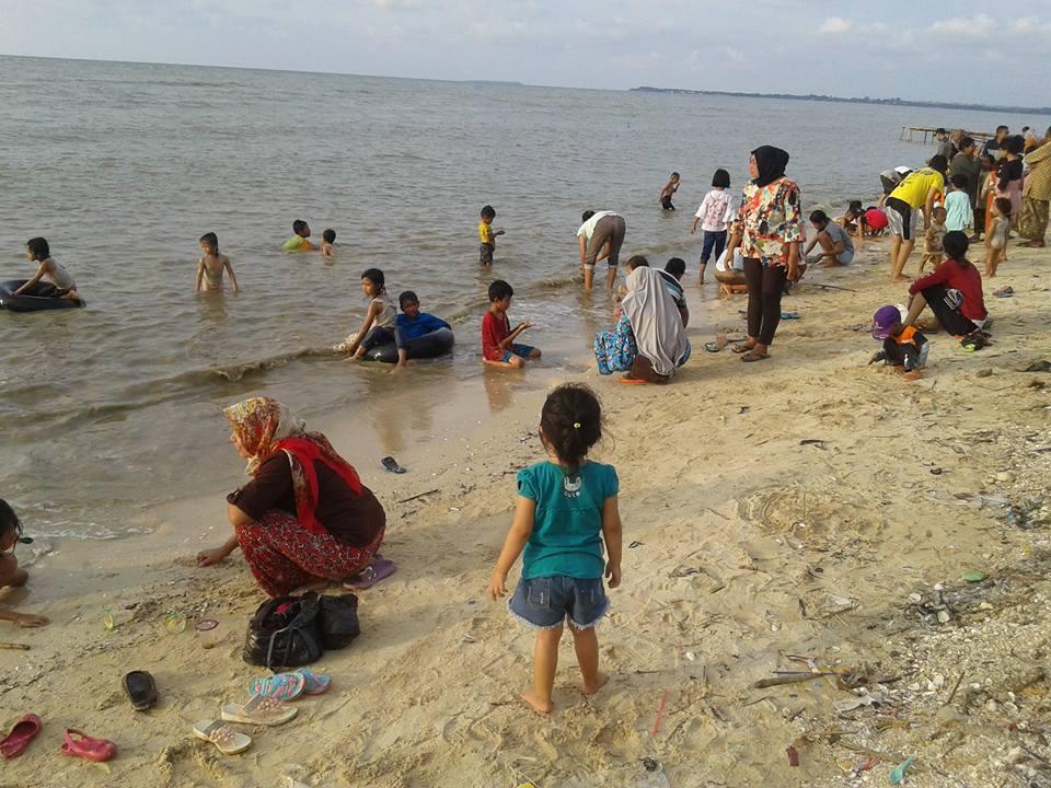Tahun Baru Pantai Indah Panggung Jepara  , Pengunjungnya Luar Biasa