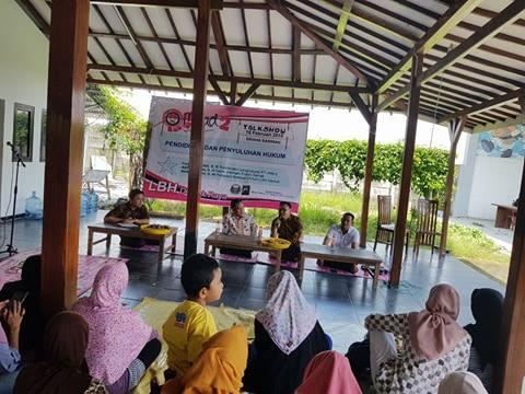 LBH Demak Raya, Rayakan Milad Ke – Dua Bersama Masyarakat Kabupaten Demak.