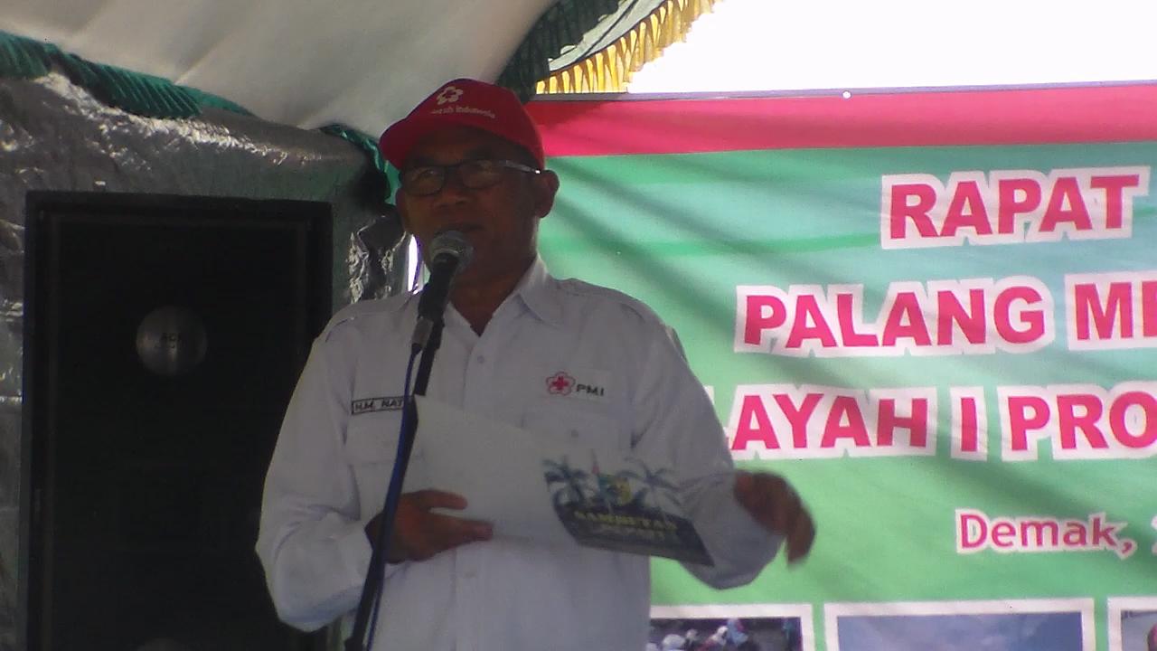 Bupati Demak Buka Rakor  PMI Wilayah  1 Jawa Tengah,  Di Reduksi Kedungmutih