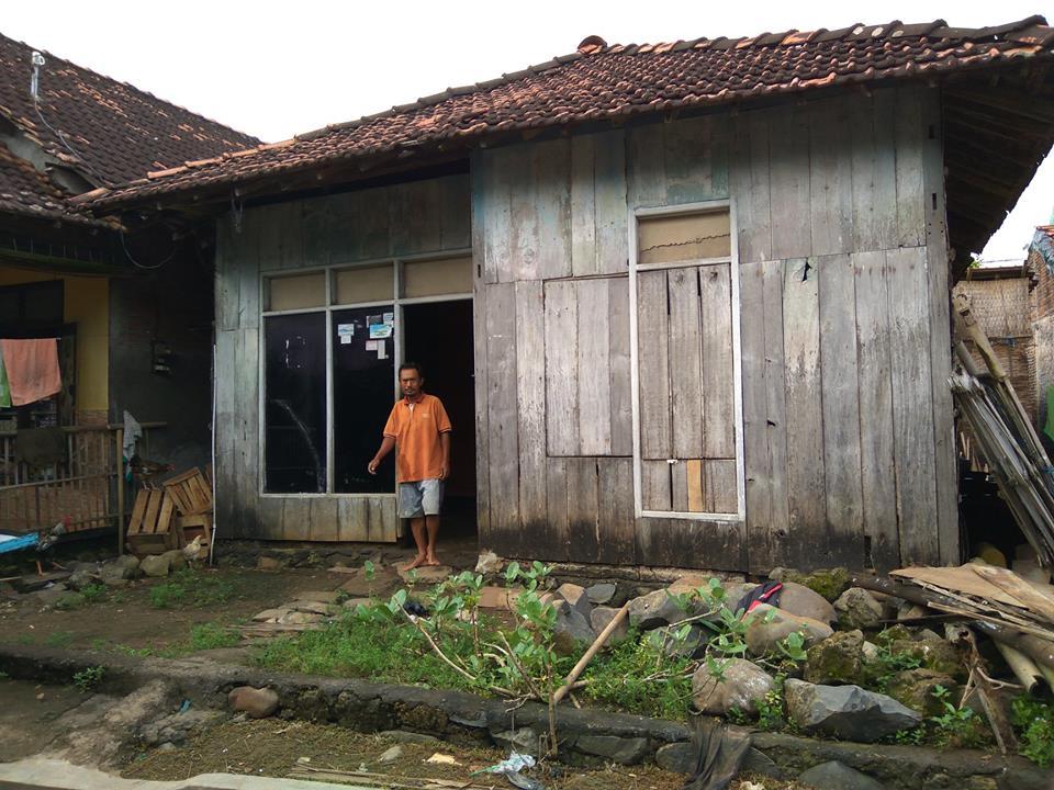 Melihat Rumah Bang Sutikan Kedungmutih Demak , Layak Dapat Program Perbaikan RTLH