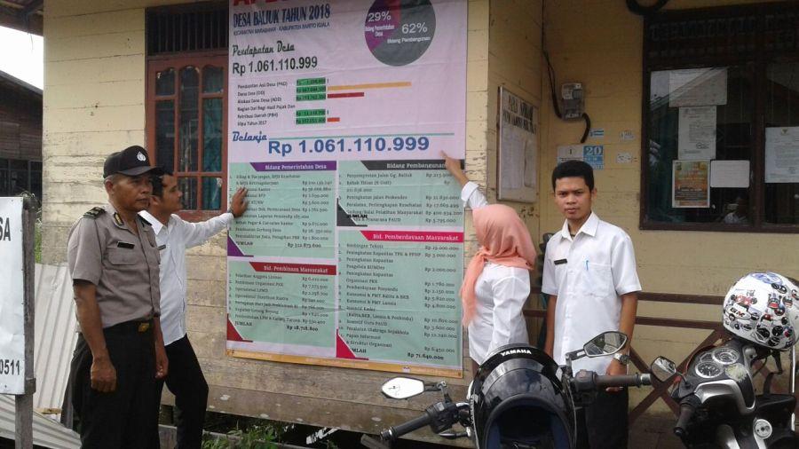 Menteri Desa Wajibkan Kades Pasang Baliho Dana Desa, Nggonmu Wis Di Pasang ?