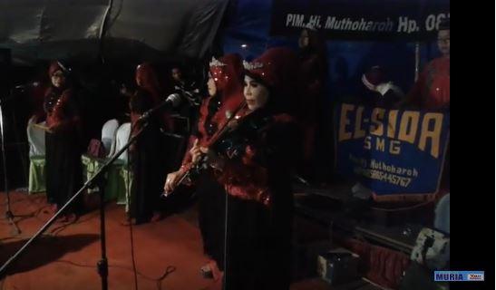 El-Sida Semarang 17 April , Nada Dan Da'wah Di Ponpes Thoriqul Huda Kedungkarang Demak