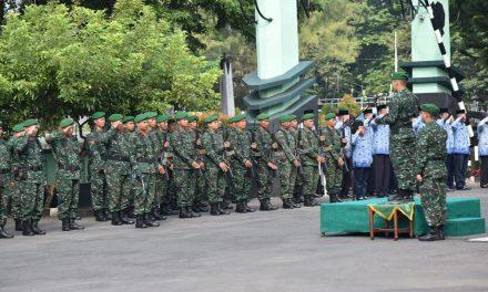 KODIM DEMAK GELAR UPACARA BENDERA PERINGATI HARI KEBANGKITAN NASIONAL KE-110 REPUBLIK INDONESIA
