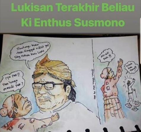 In Memorial Ki Enthus Susmono : Nyalon Bupati Hanya Bermodal Kaset CD