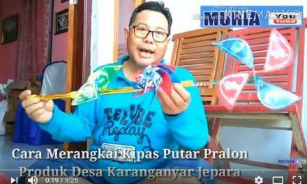 Inilah Cara Mudah Pasarkan Kipas Putar Bunga Ganda dari Jepara