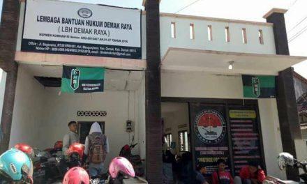 Jelang lebaran Idul Fitri,   LBH Demak Raya Lounching Posko Pengaduan THR Tahun 2018.