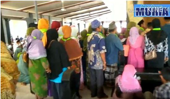 Jelang Ramadhan Makam Sunan Kalijaga Demak  di Padati Peziarah