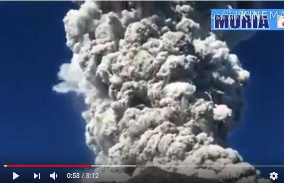 Inilah Video Amatir Detik Detik Merapi Meletus dan Kepanikan Para Pendaki