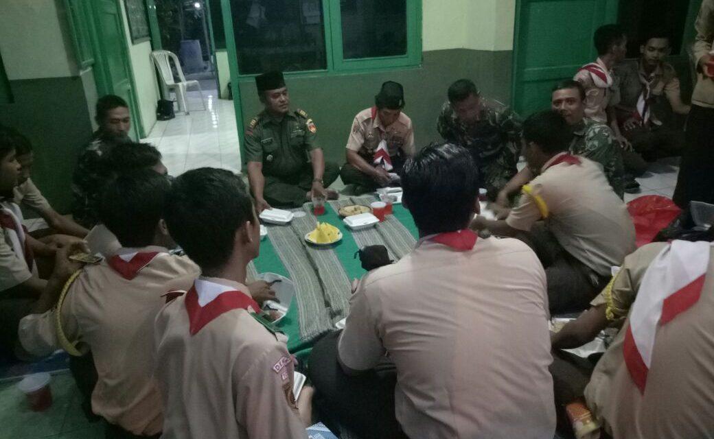 Koramil 05 Mijen bersama anggota Sakawira Kartika Tadarusan di Bulan Ramadhan