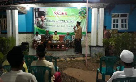 Agus Sutisna ,SH,MH  Selesaikan Reses Masa Sidang II DPRD Jepara