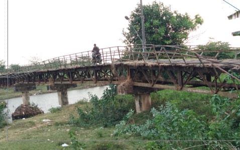 """Inilah  Jembatan di Jepara Yang """"Sangat Membutuhkan""""  Perhatian"""