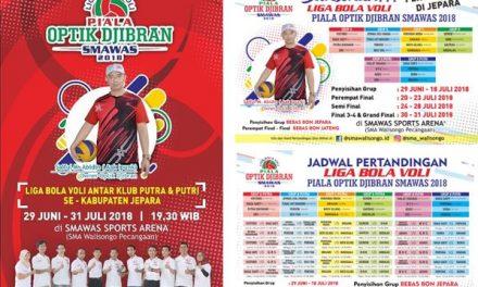 24 Klub Bola Voli Ikuti Liga Bola Voli Piala Optik Djibran Smawas 2018