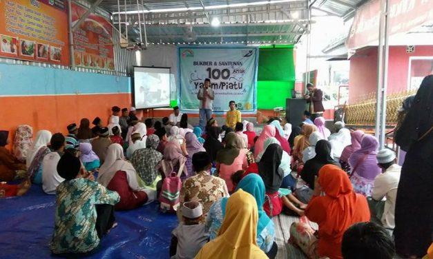 100 Yatim-Piatu Demak  , Terima Santunan Sambut  Hari Raya dari KOHD