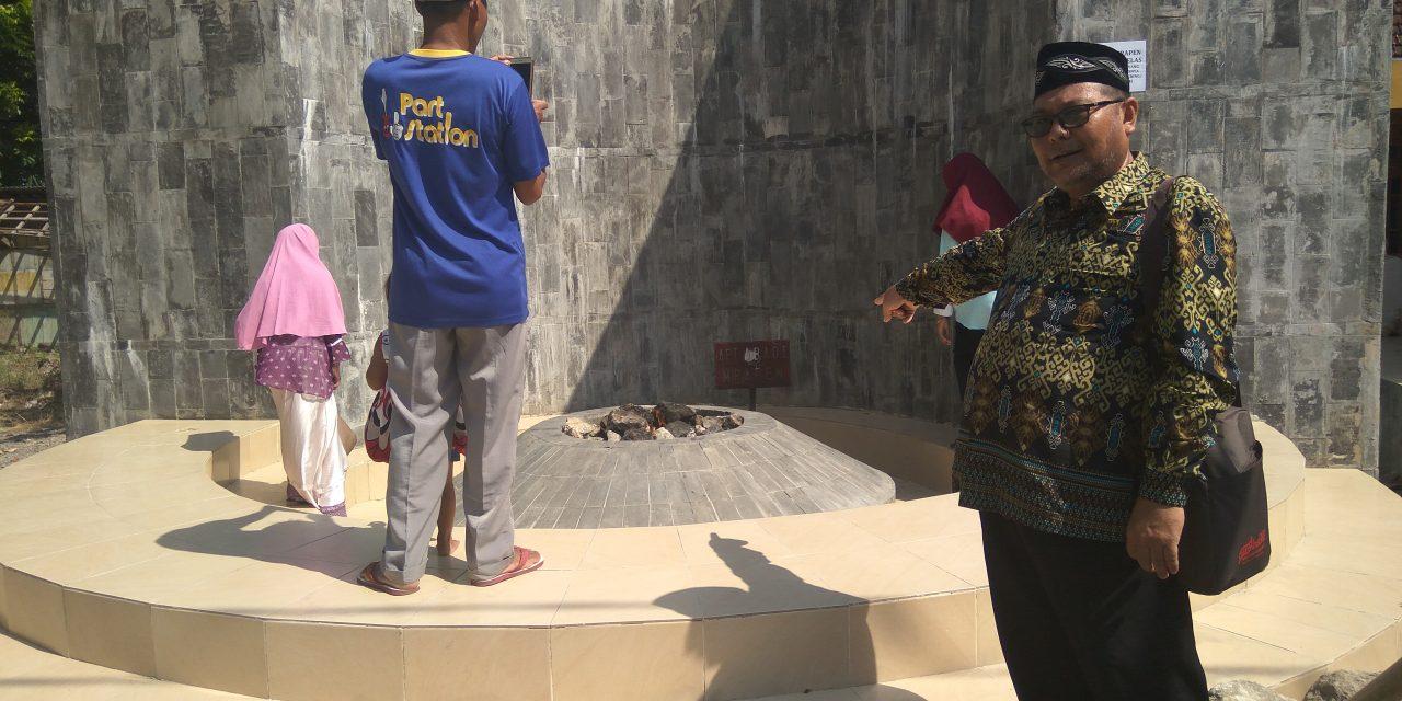 Yuk Berkunjung ke OW Mrapen Grobogan, Apinya Tak Kunjung Padam