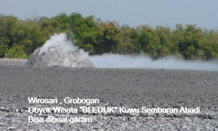 Obyek Wisata Bleduk Kuwu Grobogan , Semburan Lumpur Yang Tak Pernah Usai