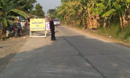 Hore !!!! Jalan Provinsi Kedungmalang – Pecangaan , di Betonisasi 1,2 Kilometer