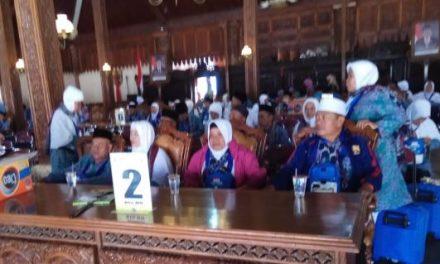 Jamaah Calon Haji Jepara 2018 , Telah Diberangkatkan  dari Pendopo kabupaten