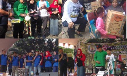 HUT SMP Negeri 1 Pecangaan Jepara ke 54 , Dari Bazar ,Temu Alumni Sampai Jalan Sehat Berhadiah