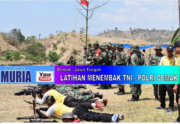 Ketrampilan Menembak TNI – POLRI Harus Selalu DiAsah