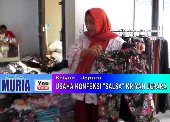 """Usaha Konfeksi """"Salsa""""  Kriyan Jepara  , Sediakan Pakaian Jadi Wanita Untuk Pedagang Grosiran"""