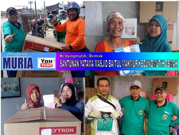 KSP Margi Rahayu Kedungmutih , Bagi Bagi Hadiah Kepada Anggota Di Hari Ulang Tahunnya