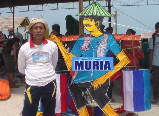Mbah Rifai dari  Jepara , Kreatif Ciptakan Layang Layang Petambak Garam