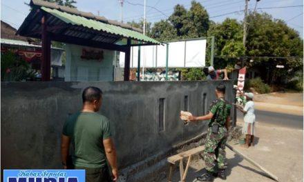 Musholla Koramil Kedung jepara Dicat,  Untuk Kenyamanan Anggota Dalam Beribadah