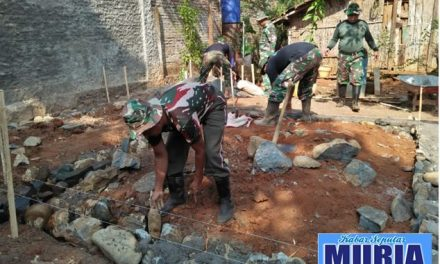 TMMD Di Jepara , Rehab RTLH Warga Desa Langon