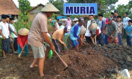 Di Desa Tedunan Jepara , Tenaga Gali Kubur Suka Rela dan Cuma Cuma