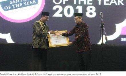 Pesantren Al Mawaddah Kudus Raih Santri of the Year 2018