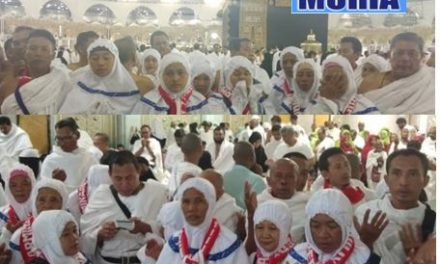 Jama'ah Umroh Armina Reka Perdana dari Demak ,Lancar Ikuti Rangkaian Ibadah di Tanah Suci