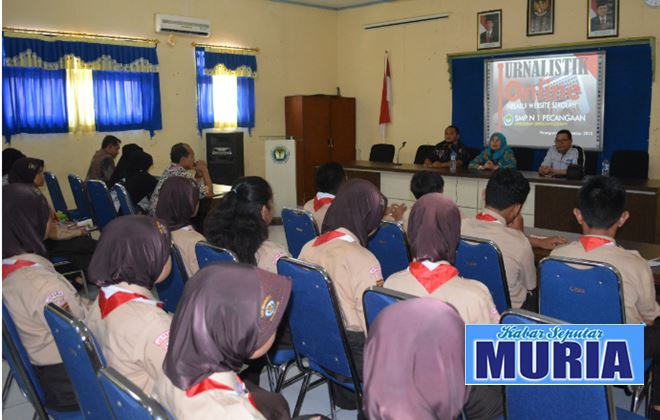 Pelatihan Menulis dan Jurnalistik di SMP Negeri 1 Pecangaan Jepara