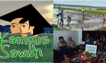 Di Desa Karangrandu Jepara Ada Kampus Sawah , Menebar Pembelajaran  Lewat Lahan Pertanian