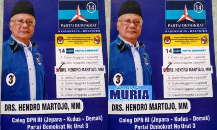 Jangan Ragu Dukung  dan Pilih  Pak Drs.Hendro Martojo,MM Untuk DPR RI