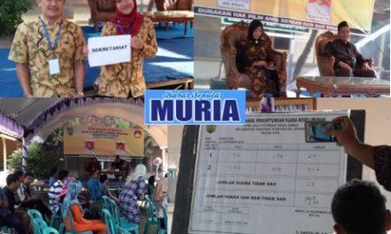 Suami Istri Berlaga dalam Pilpet Desa Semat Jepara, Eko Mas Noor Fredi  Kalahkan Istrinya