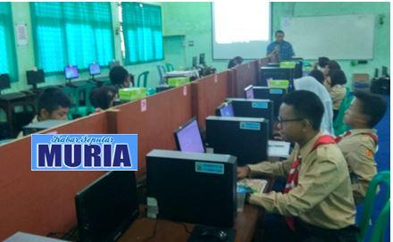 Pelatihan Jurnalistik di SMP 1 Pecangaan Jepara ,Membuat Berita di Media On-line Tidak Sulit