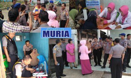 Bhakti  Sosial  HUT ke 39 Yayasan Kemala Bhayangkari  2019 di  desa Kedung Malang  Jepara
