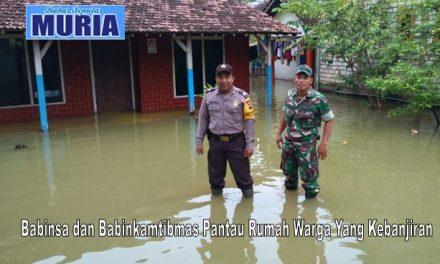 Hujan Tiada Henti 40 Rumah Di Desa Mustokoharjo Pati Tergenang Banjir