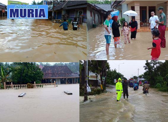 Hujan Siang Malam Mengguyur, Beberapa Desa Di Kecamatan Kayen Pati Tergenang