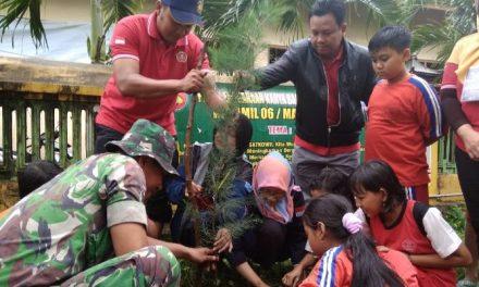 Karang Taruna Soneyan Pati Adakan Kemah Lingkungan ,Tanam Pohon Untuk Penghijauan