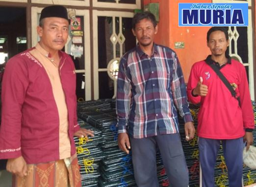 "Bantuan Bubu Kepiting Untuk Kelompok ""Mina Rejo Mulyo"" Kedungmutih Demak"