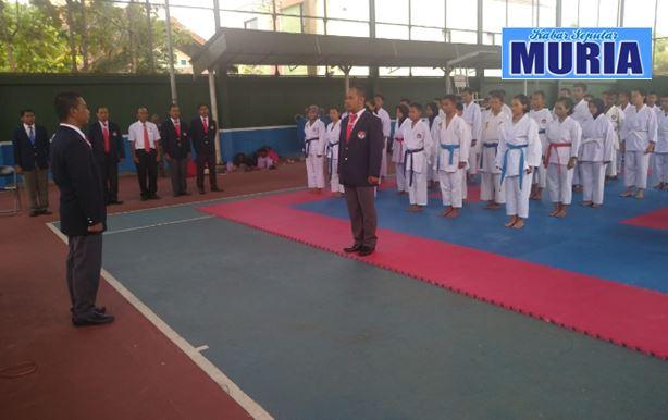 Dispora Blora Adakan Seleksi  Atlit Karate Jelang Popda 2019