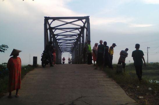 Tukang Ojek Meninggal Dunia,  Tabrak Pagar Jembatan di Ujungpandan Jepara