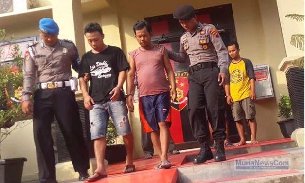 Spesialis Maling Kambing di Wilayah Kedung Jepara Diringkus Anggota Polres Grobogan