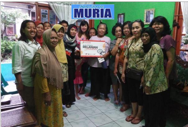 Dwi Lina Sulistyaningsih, S.Pd. ,  Relawan Untuk Demokrasi 2019