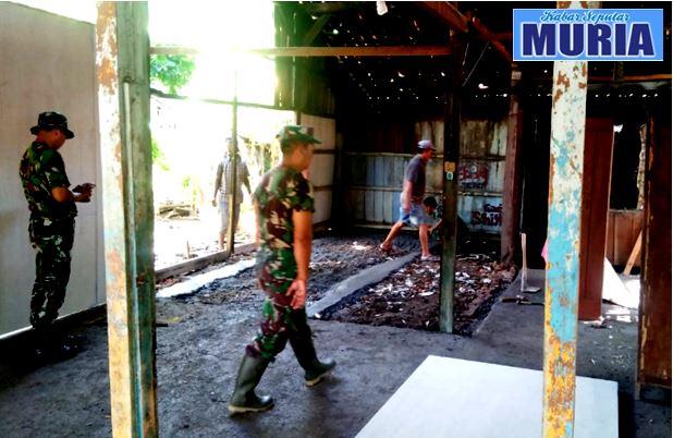 Dua Rumah di Bedah di TMMD di Desa Wringinjajar Demak