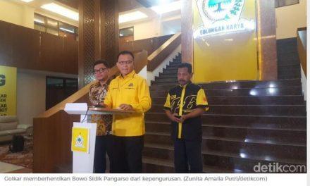 Kena OTT KPK, Bowo Sidik Pangarso Dipecat Golkar dari Kepengurusan, Siapa lagi Ya ?