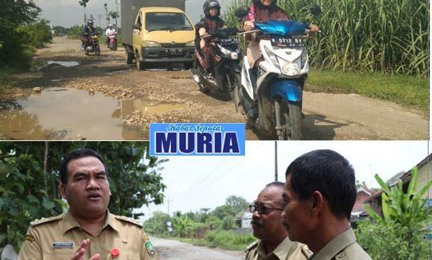 Wakil Bupati  Blora Tinjau Jalan Kamolan-Banjar Yang Rusak
