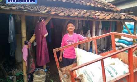 Rumah Tukang Sampah Ini Pengap dan Kumuh , Layak Di Bedah Program Pemerintah